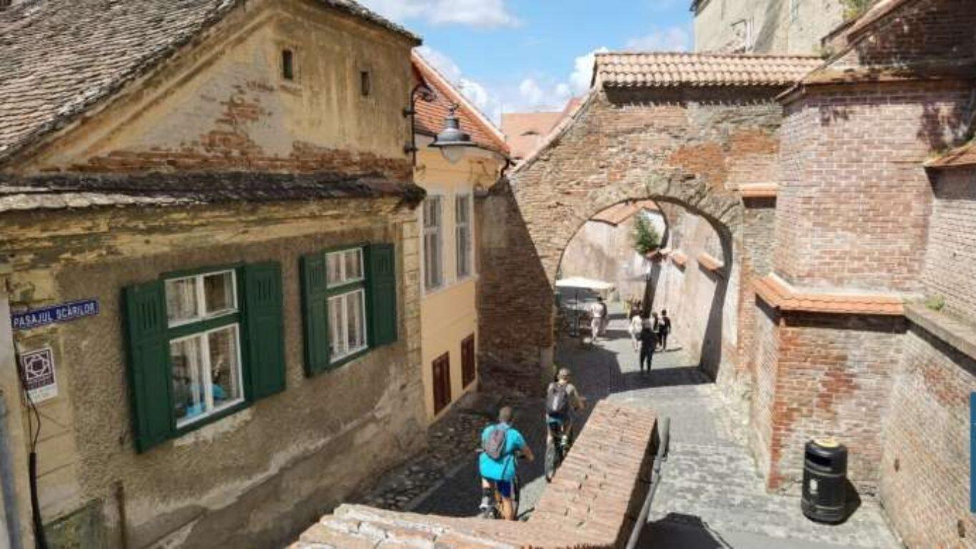 Pasajul Scarilor Sibiu Transfagarasan Romania