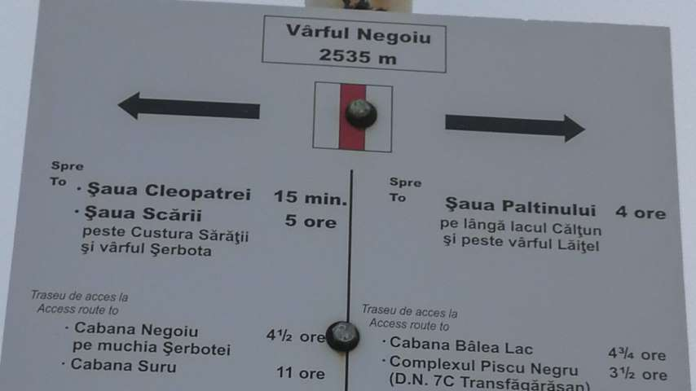 Varful Negoiu – Hiking Transfagarasan Romania