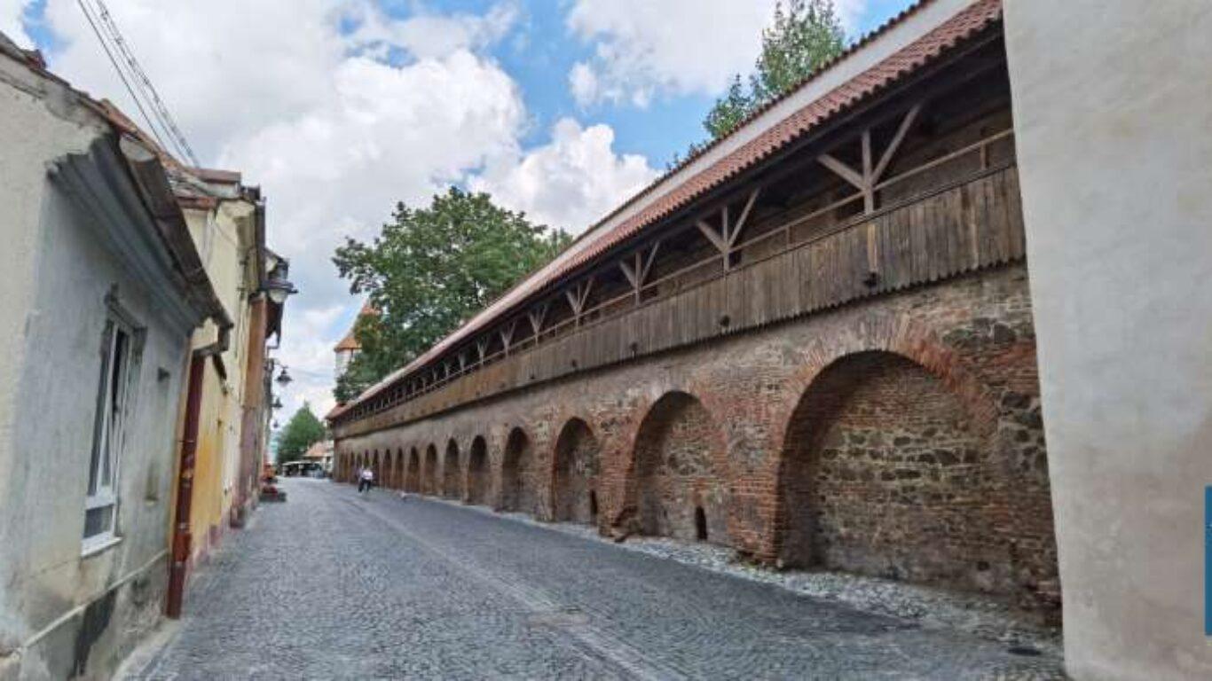 Zidul de pe Strada Cetății
