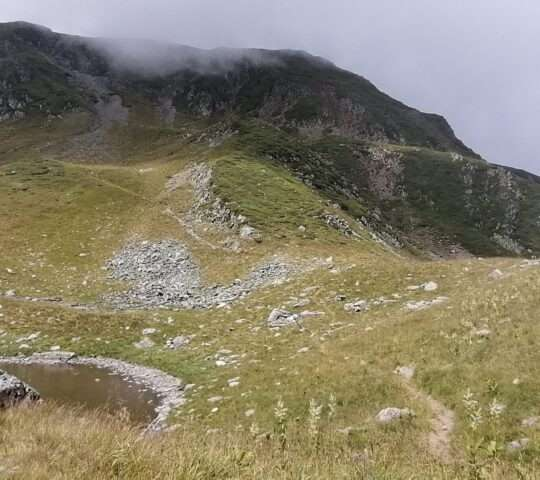 Cabana Bârcaciu  – Vârful Ciortea  – Lacul Avrig  – Cabana Bârcaciu