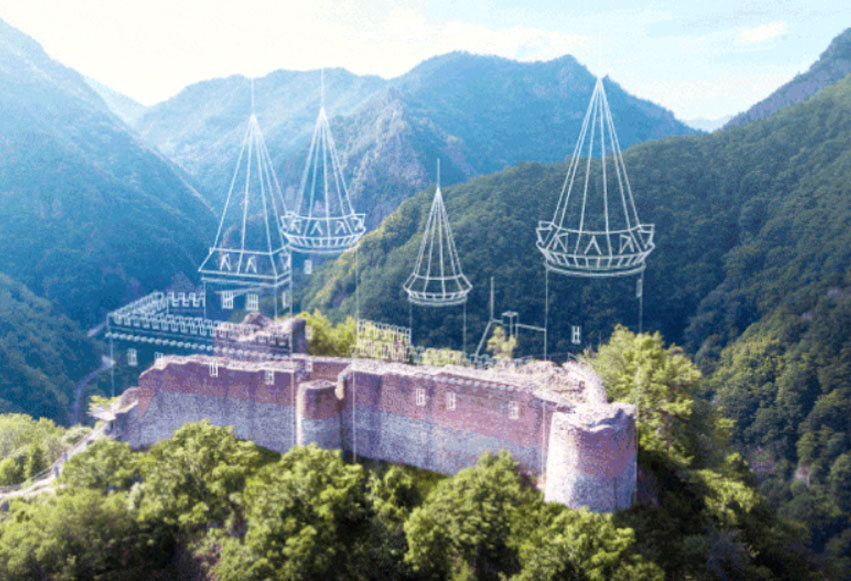 Cetatea Poenari Transfagarasan