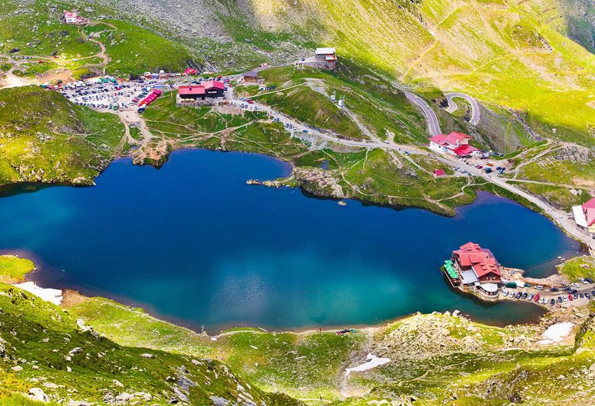 Lacul Glaciar Bâlea (2034 m)
