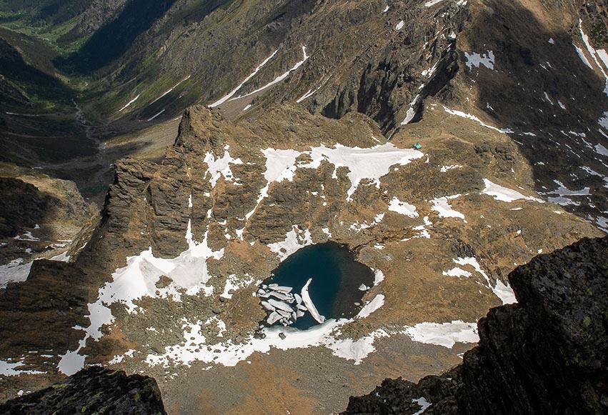 Lacul Glaciar Călțun (2135 m)