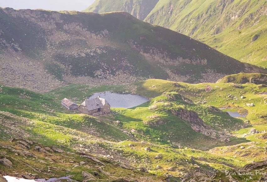 Lacul Glaciar Podragu (2140 m)