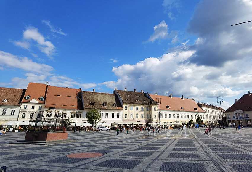 Piața Mare din Sibiu (Piața Sfatului)